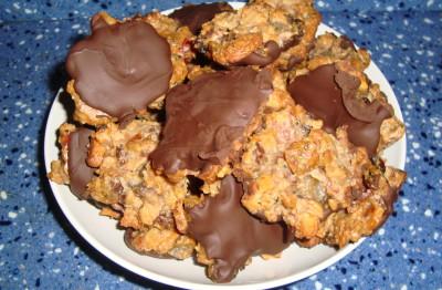 Флорентийское печенье с папайей