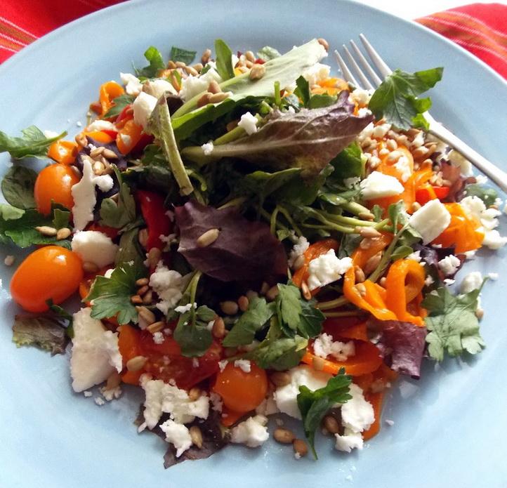 Овощи с фетой