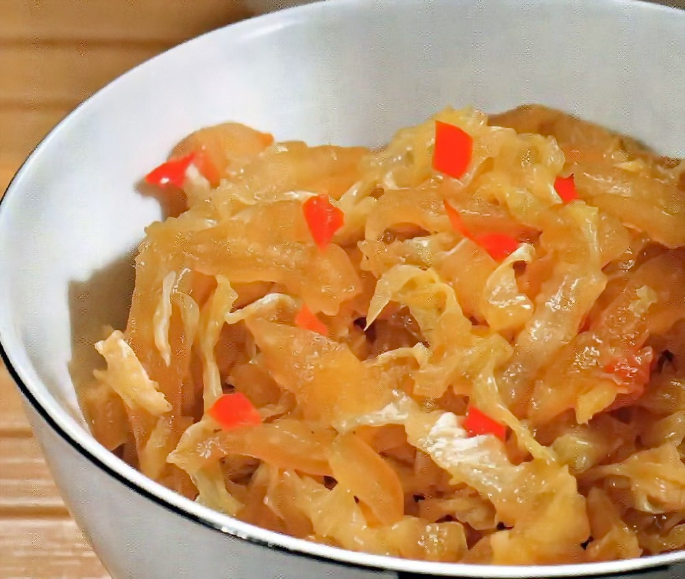 Китайская капуста с медом