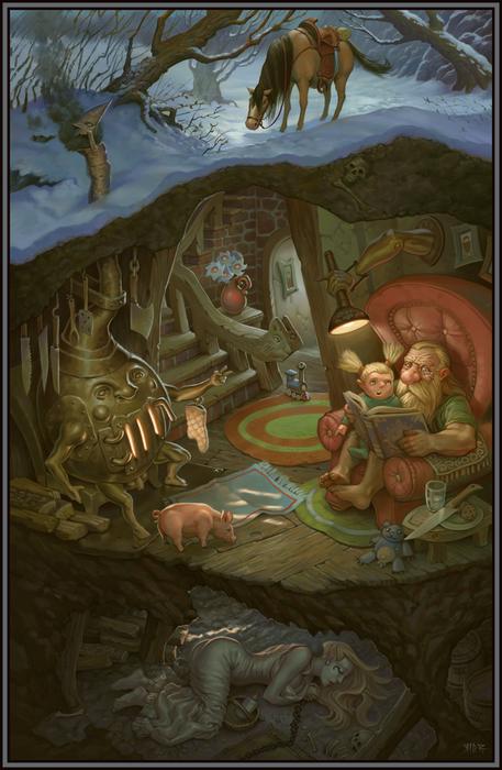 Жертва в подвале