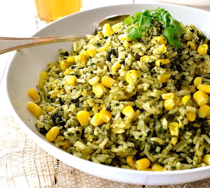 Зеленый мексиканский рис