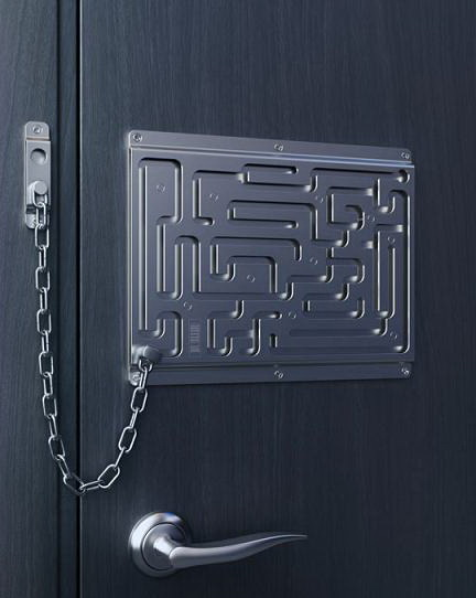 Цепочка на двери