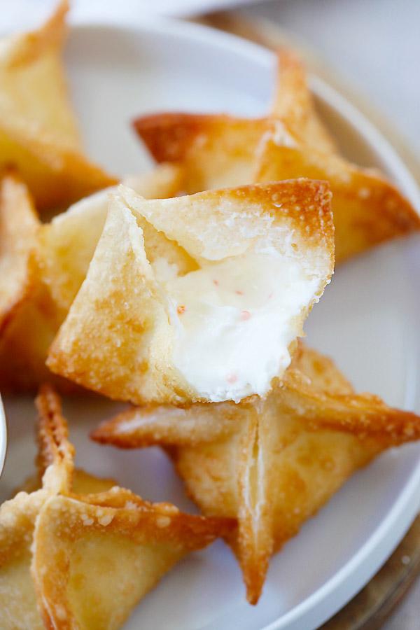 Вонтоны со сливочным сыром